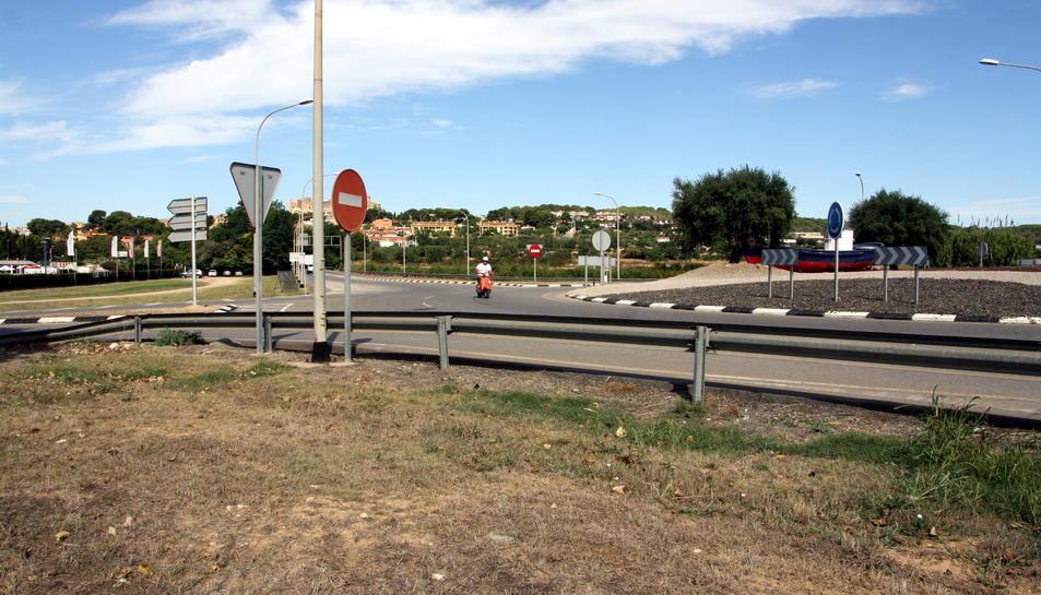 Ubicació de la futura bassa, a l'entorn de la Conca de la Rasa, on es recolliran aigües pluvials.
