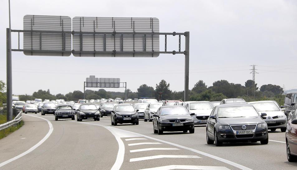 L'AP-7 és una de les autopistes que podria passar a controlar la filial d'ACS.