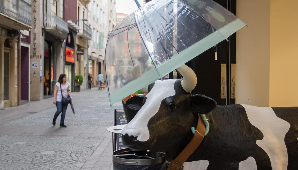 Si plou, que no es mulli la vaca