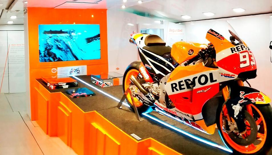 La moto de Marc Márquez és un dels elements que