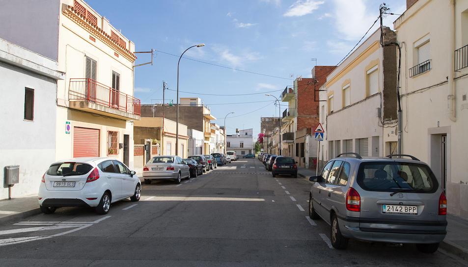 Imatge d'arxiu d'un carrer del barri Sol i Vista, que veuria reformada la seva illa central.