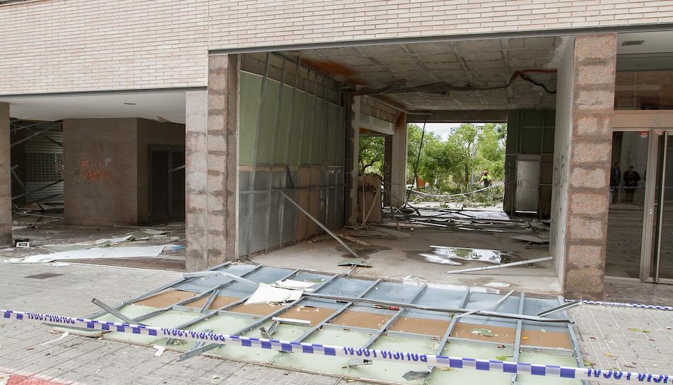 Imágenes de los desperfectos causados por el temporal en Valls 2
