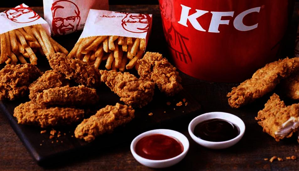 La cadena de menjar ràpidKFCnomés segueix a 11 persones a Twitter.