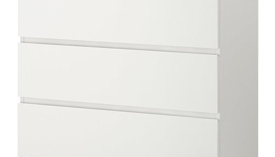 Un total de 29 milions d'exemplars del model de còmoda Malm han estat retirats als EUA.