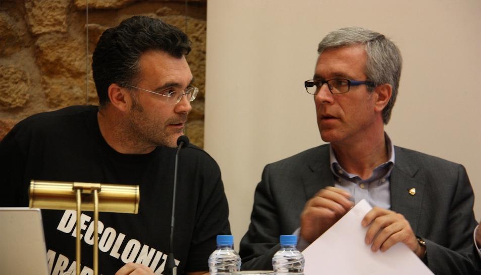 Jesús Monllaó i Josep Fèlix Ballesteros.