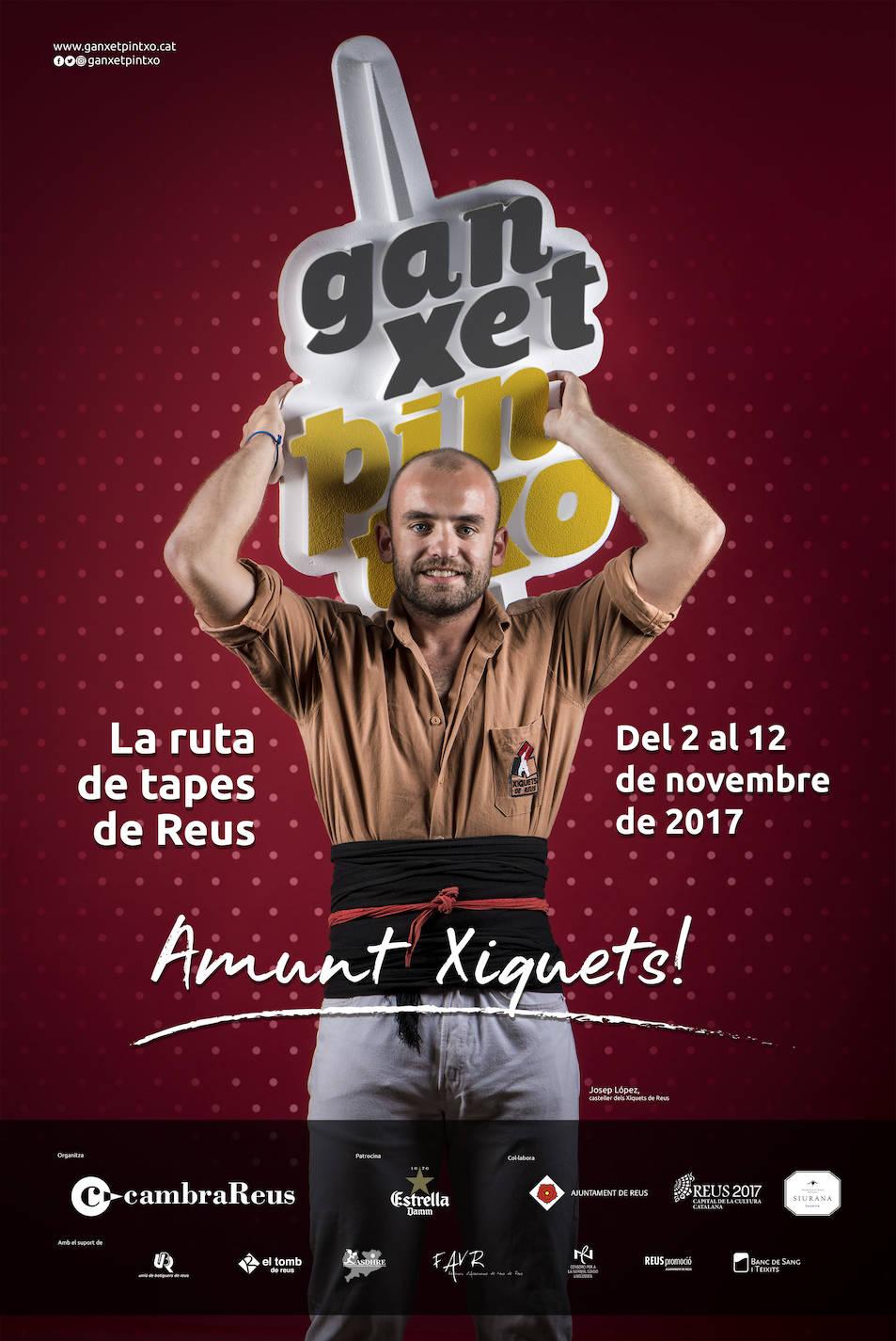 Josep López, és la imatge del cartell promocional.