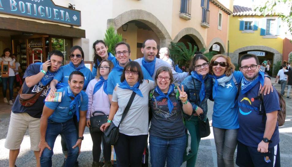 Imatges de la 9a festa Fent Amics de Down Catalunya a PortAventura