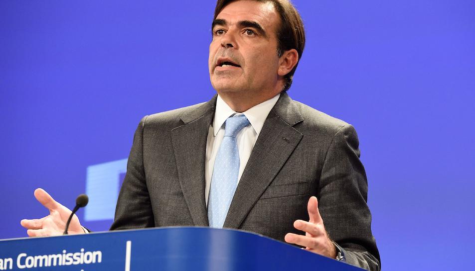 El portaveu de la Comissió Europea, Margaritis Schinas.