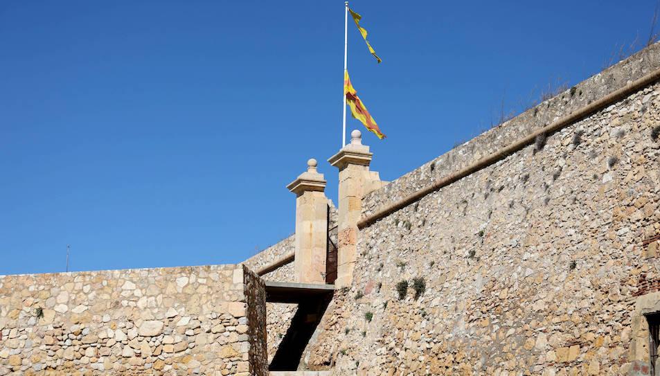 La bandera de Tarragona del Fortí de Sant Jordi