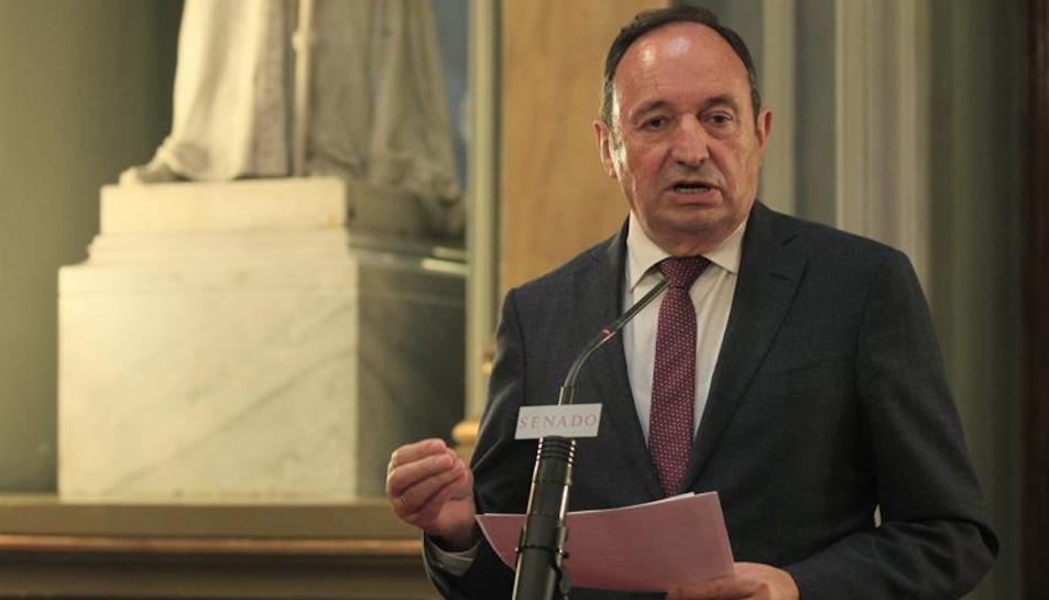 Imatge d'arxiu del vicepresident del Senat, Pedro Sanz.