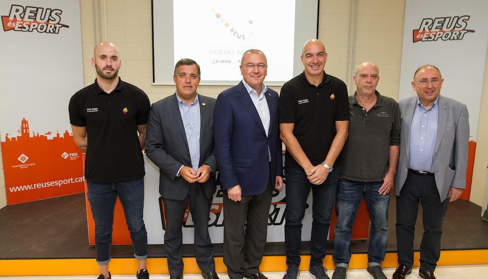 Representants polítics, del Reus Deportiu i de la federació.