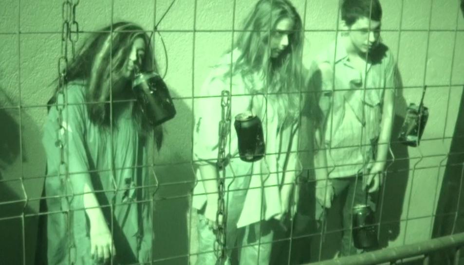 Imatge de l'espectacle de La Palma Terror Show d'edicions anteriors.