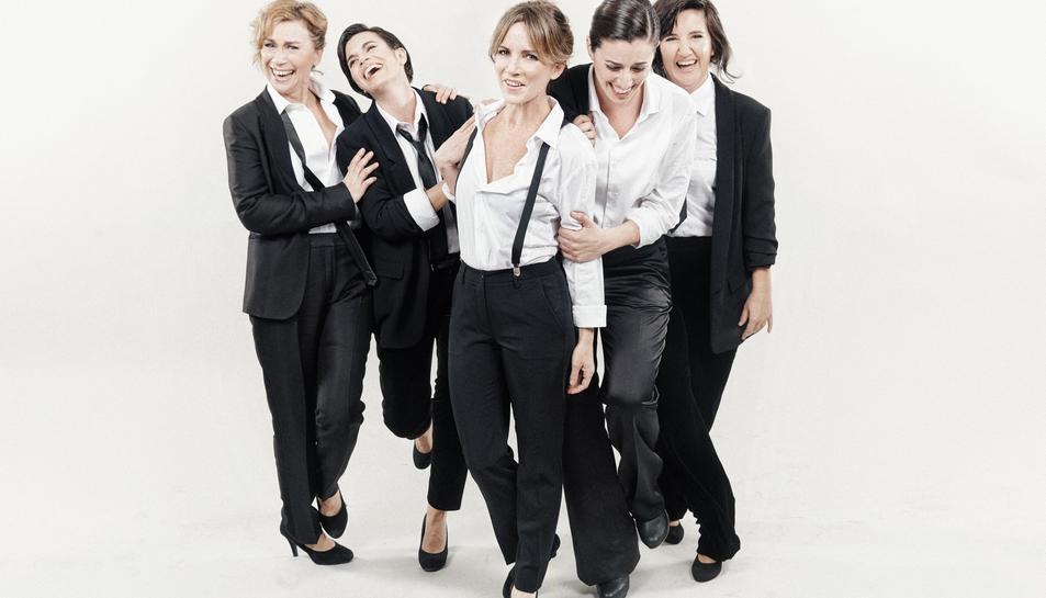 Les entrades per l'espectacle 'Homes, la comèdia musical', es poden aconseguir a un preu de 25 euros i 20 euros amb els descomptes habituals.