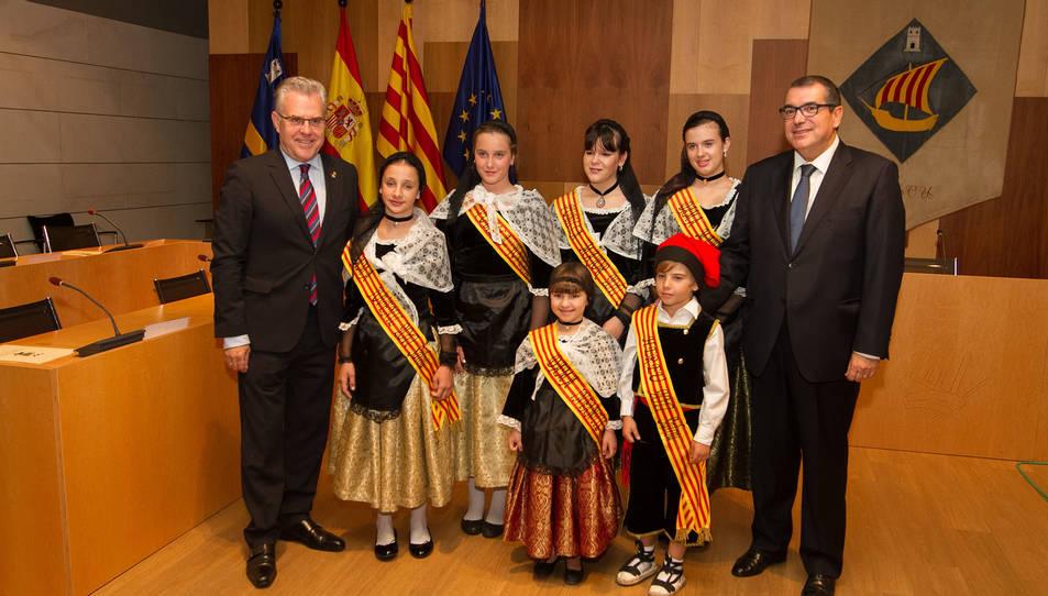 A l'esquerra, Pere Granados, i a la dreta, Jordi Jané