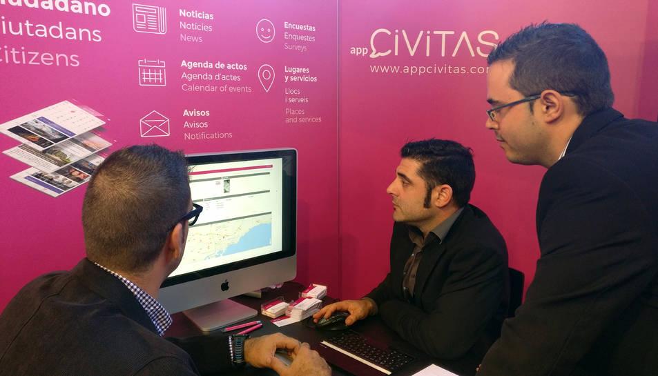 L'aplicació s'ha presentat durant aquesta setmana al saló que obre portes a Lleida