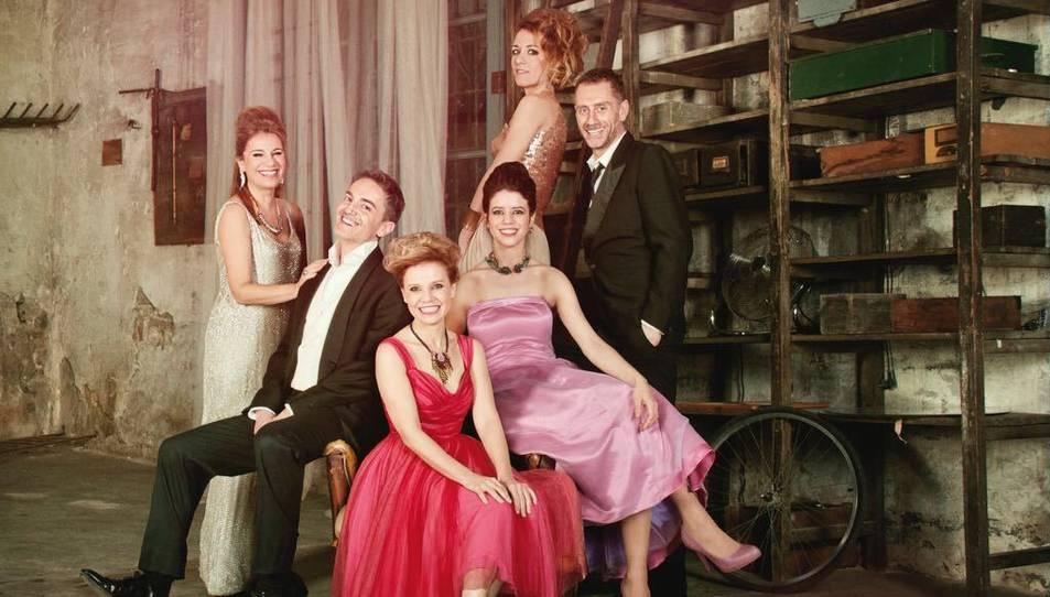 Imatge promocional de l'obra 'Els tres aniversaris', que es va estrenar a Tarragona.