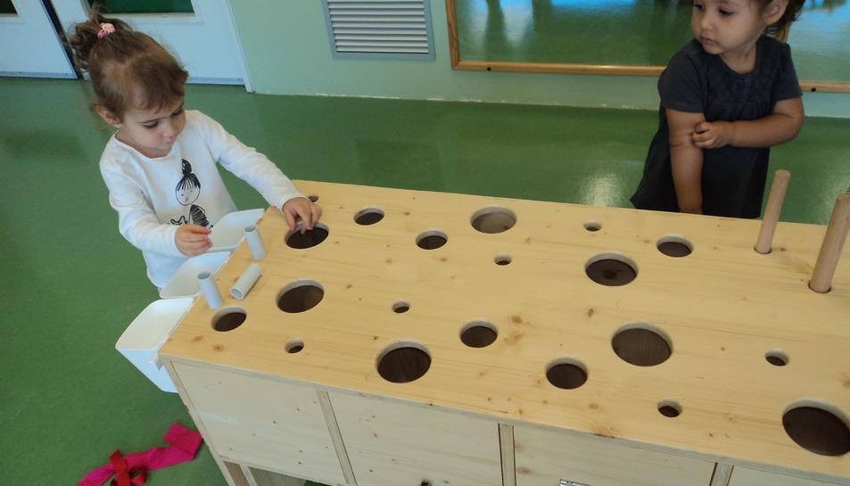 L'activitat ja s'ha desenvolupat a les escoles bressol la Ginesta, Montsant i Marfull.