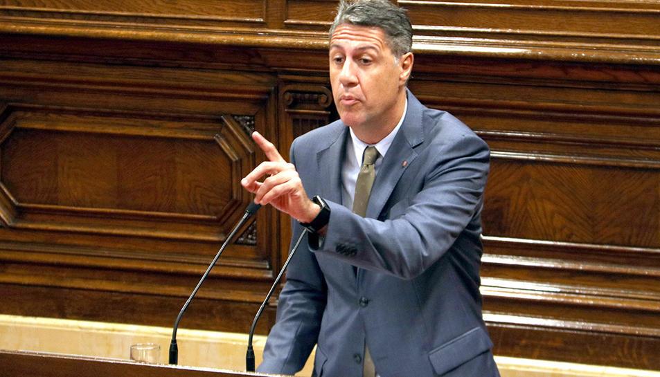 El líder del PPC Xavier Garcia Albiol al Parlament