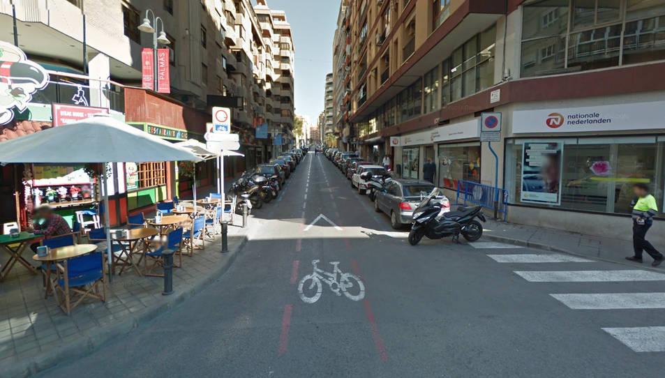L'agressió va ser al cèntric carrer O'Donnell poc després de les 9 del matí.