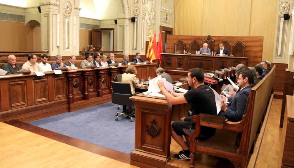 Imatge d'arxiu del plenari de la Diputació de Tarragona.