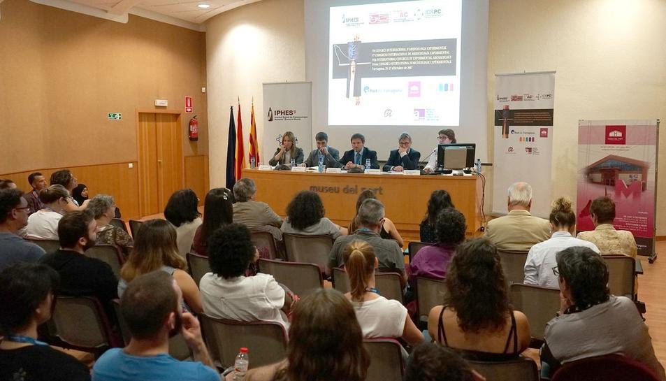 Imatge de la cloenda que s'ha dut a terme al Museu del Port de Tarragona.