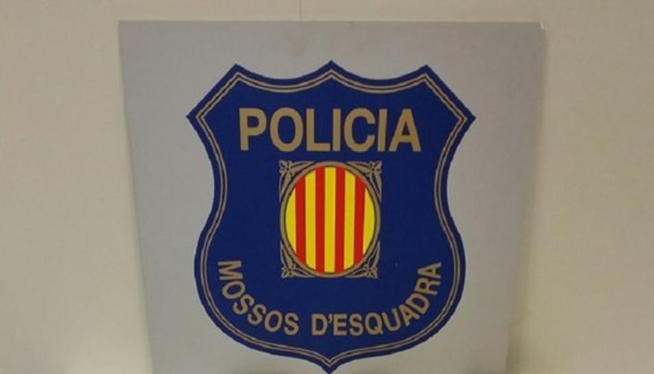 Imatge del material decomissat pels Mossos d'Esquadra.