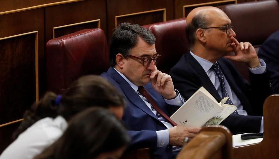 Juan Carlos Hidalgo, portaveu parlamentari del PNB.