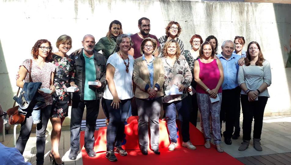 La biblioteca salouenca ha reconegut la feina dels treballadors.