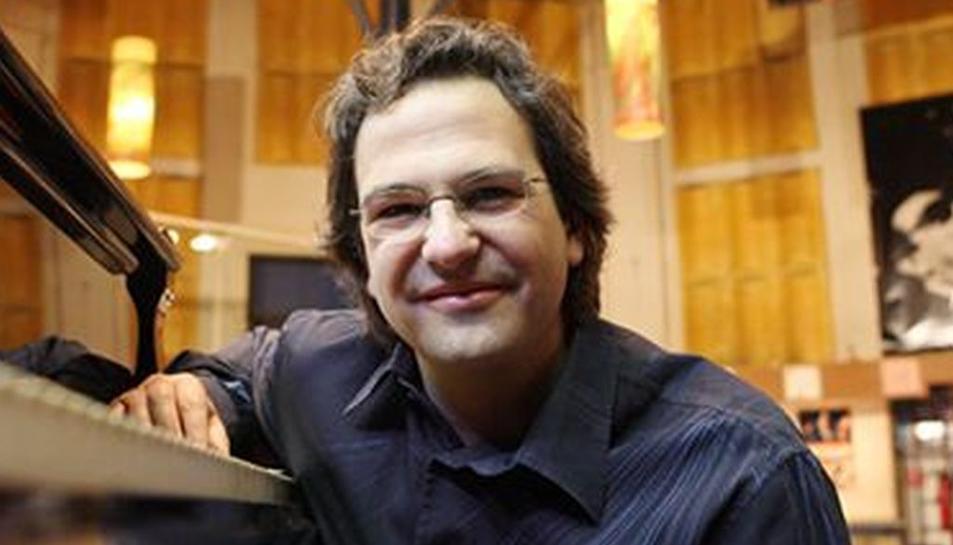 El pianista Enric Carreras actuarà junt al cartet