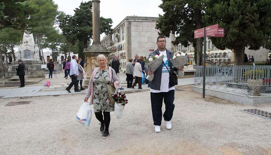 Celebració de a festivitat de Tots Sants al cementiri de Reus