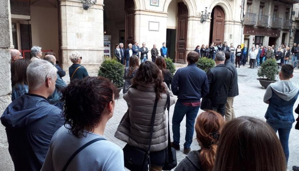 Concentraciones delante de los centros de trabajo del Campo de Tarragona