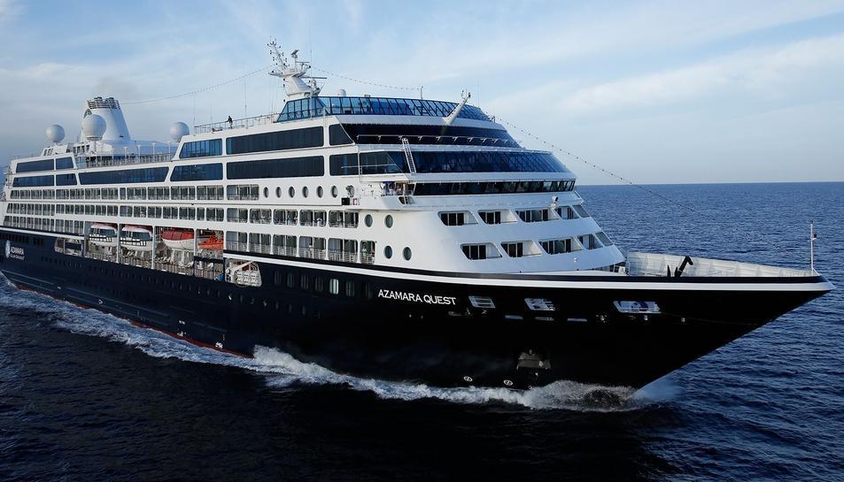 Imatge del creuer Quest de la companyia Azamara Club Cruises.