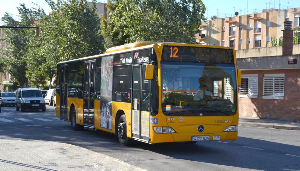 Una imatge d'un dels vehicles de Reus Transport.