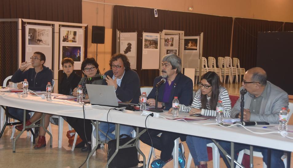 Imatge dels representants dels diferents consistoris dels municipis.