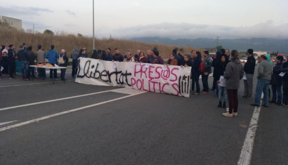 Imatge de la carretera de Montblamc