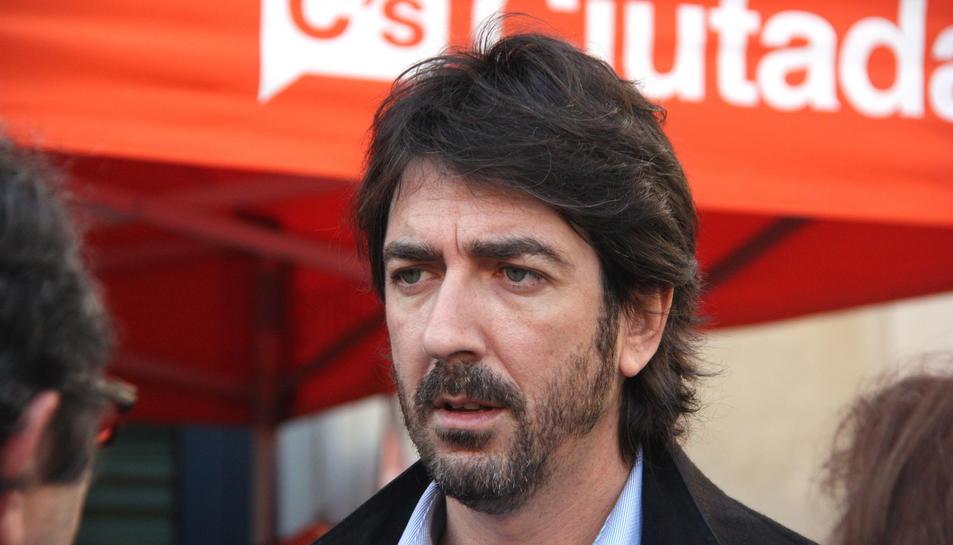 Imatge d'arxiu del diputat de Cs per Tarragona, Sergio del Campo.
