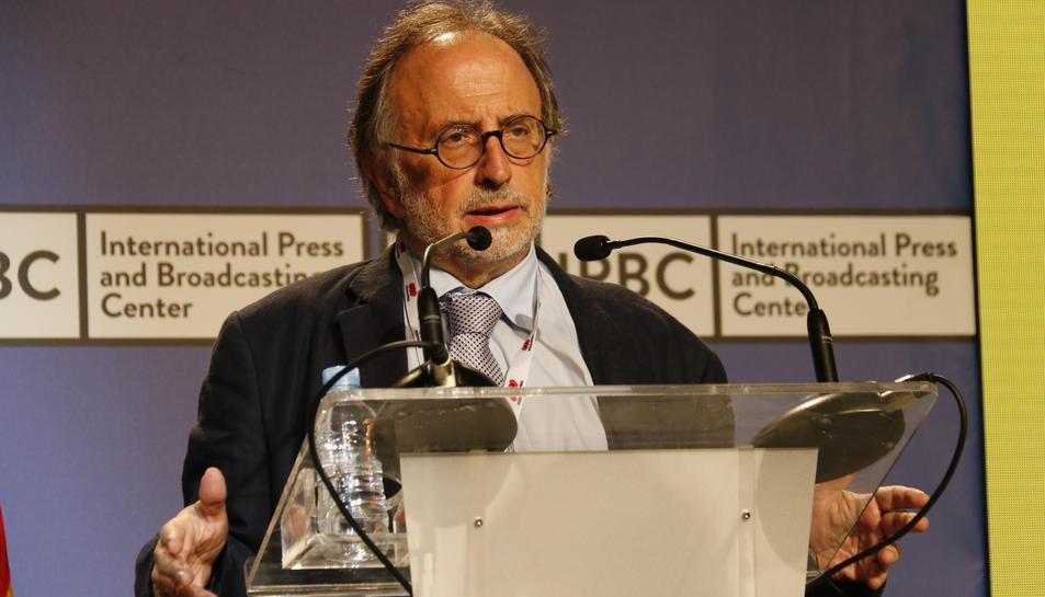 El president del Consell de l'Advocacia Catalana, Carles McCragh en una imatge d'arxiu.