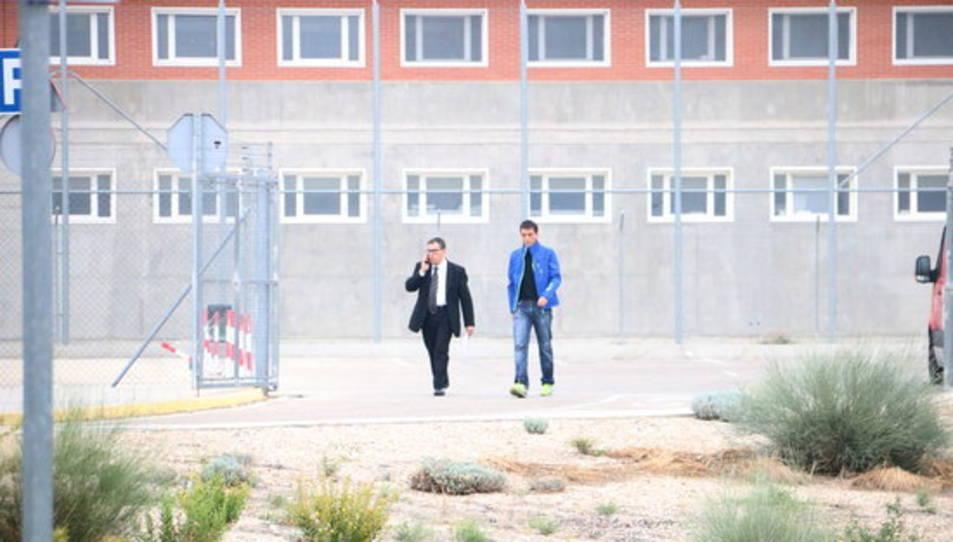 L'advocat dels consellers del PDeCAT que es troben a presó, Jaume Alonso-Cuevillas, els visita al centre penitenciari d'Estremera