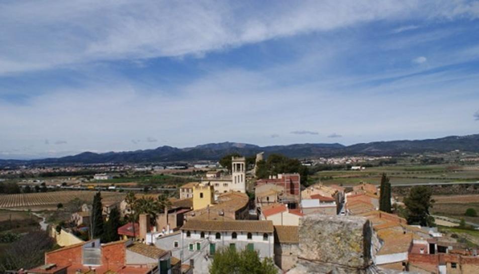 Imatge del municipi de Banyeres del Penedès.