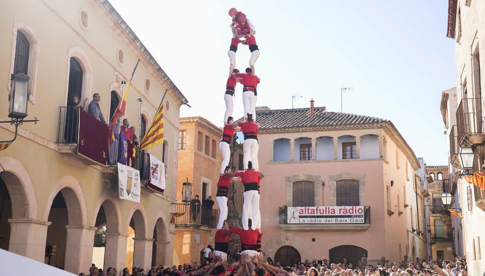 3de8 dels Xicots de Vilafranca a la diada de Sant Martí.