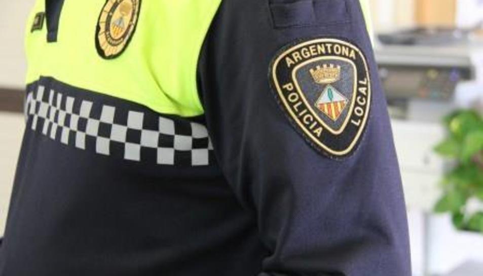 Imatge de la policia local d'Argentona.