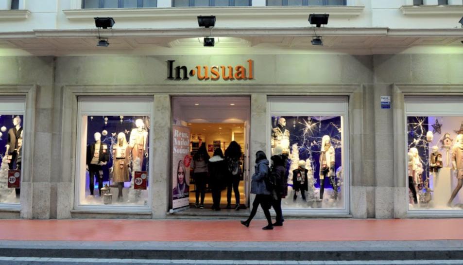 La botiga Inusual a Reus, ja tancada, va obrir el 28 d'octubre del passat 2016.