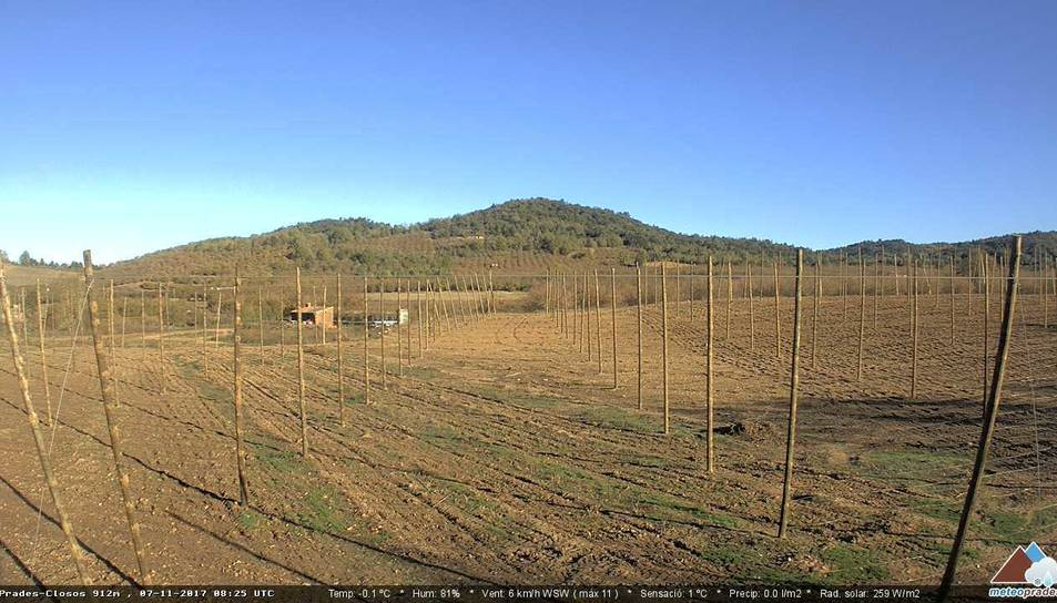Webcam de Prades Closos