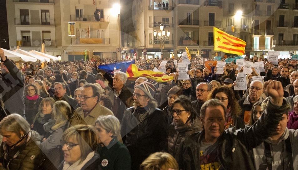 Manifestación del 8-N en Reus 1