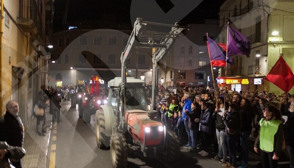 Manifestación del 8-N en Reus 2