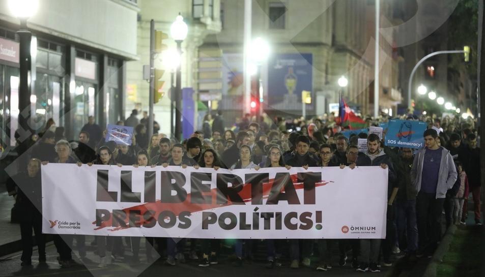 Manifestació del 8-N a Tarragona