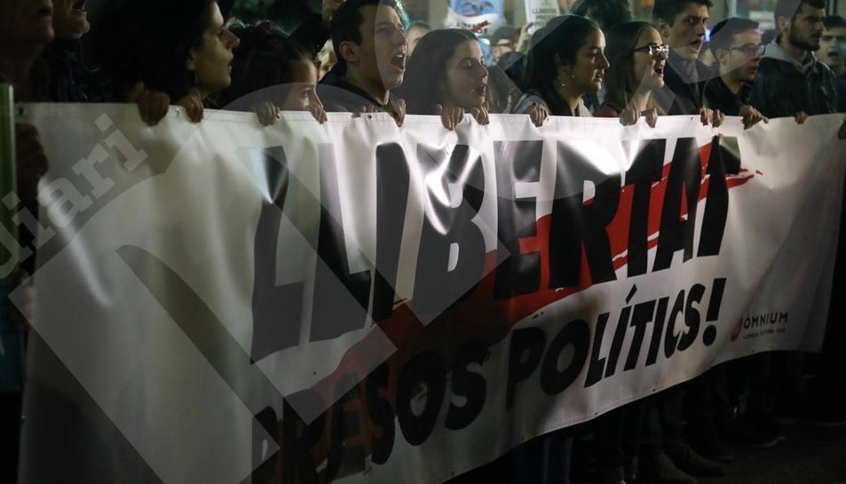 Manifestación del 8-N en Tarragona