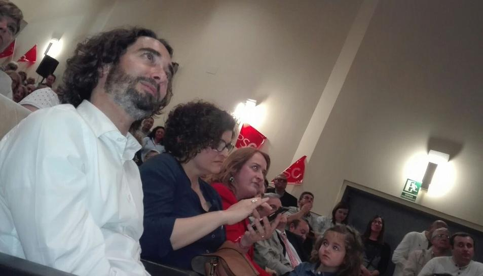 Carles Castillo i Rosa Maria Ibarra, aquest dimecres a CAmbrils.