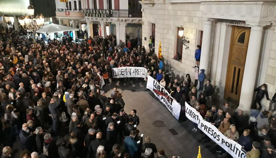 Imatge de la manifestació de Reus.