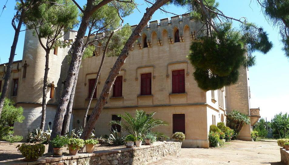 Imatge d'arxiu del Castell de Vila-seca.